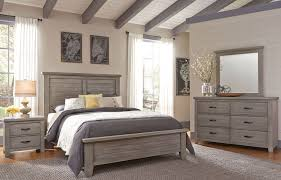 Vaughan Bassett Dresser Drawer Removal by Cassel Park Weathered Gray Plank Bedroom Set From Virginia House