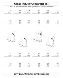 Halloween Multiplication Worksheets Coloring by Math Coloring Pages Free Number Names Worksheets Halloween Fun