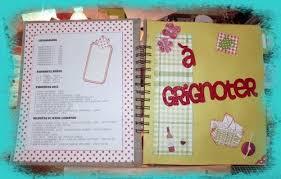 cahier de cuisine à remplir cahier de recettes scrap de zib