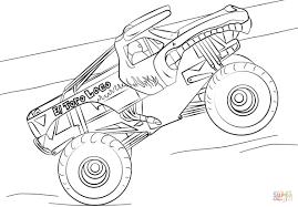 100 Coloring Pages Of Trucks El Toro Loco Monster Truck Page P DiyWordpressme