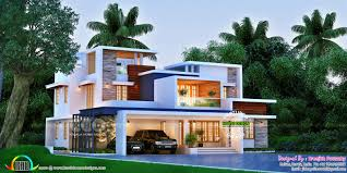 104 Contempory House Superb Box Model Contemporary 3420 Sq Ft Kerala Home Design And Floor Plans 8000 S