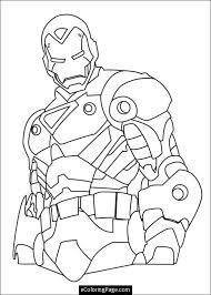 Free Printable Marvel Superhero Coloring Pages 4 Ironman Page
