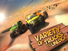 100 Monster Truck Race 3D Racing 1mobilecom