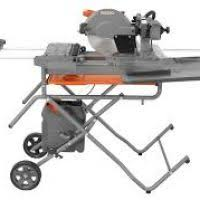 Ridgid 7in Tile Saw With Laser by Ridgid 10 Wet Tile Saw With Laser And Stand Fallcreekonline Org