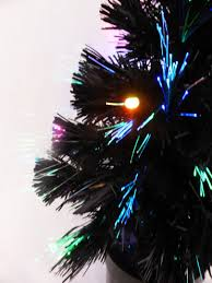 8ft Christmas Tree Uk by 60cm Black Fibre Optic Christmas Tree With Multi Coloured Led