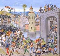 the siege of harfleur the attack by henry v s army on harfleur before the battle of