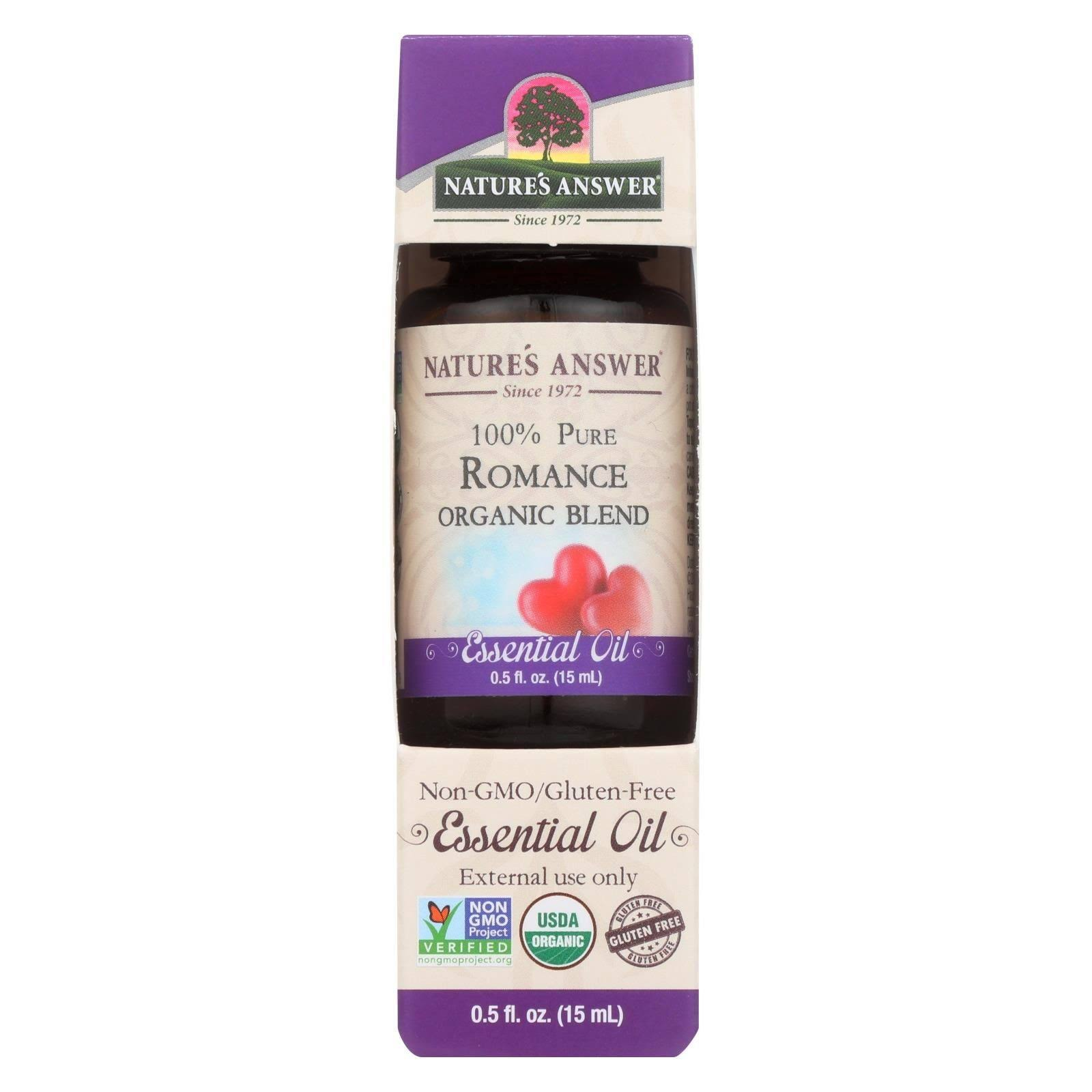 Nature's Answer - Organic Essential Oil Blend - Romance - 0.5 oz.