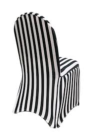 Stretch Spandex Banquet Chair Cover Black And White Striped ... Folding Chair Cover Details About 50 Black White Damask Flocking Chair Covers Wedding Ceremony Decorations Lifetime Spandex Chair Covers Stretch Lycra Cover Party Satin Ivory Reception Spandex Stretchable Fitted Dinner Polyester Or Seat Seatcover Resin W Padded Seat Silver Linentablecloth 88 Awesome Models Of Cheap Home Design