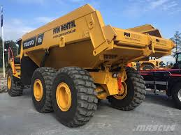 Volvo -a25g-uthyres - Articulated Dump Truck (ADT), Year Of ...
