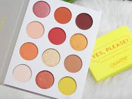 Colourpop Cosmetics Yes Please Palette
