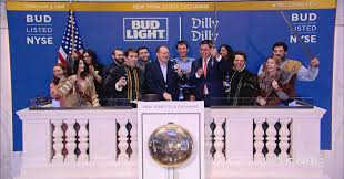 Anheuser Busch InBev execs ring NYSE closing bell to highlight Bud