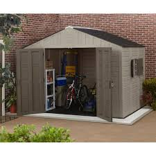 Keter Stronghold Shed Assembly by 8x10 Storage Shed Home Depot Storage Decorations