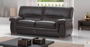 épaisseur cuir canapé canapé cuir buffle ou vachette varese plusieurs coloris au choix