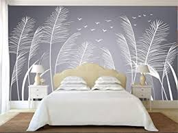 tapete 3d wandbilder natur schilf fototapete für wohnzimmer