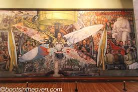 diego rivera mural reproduction of the one destroyed by flickr