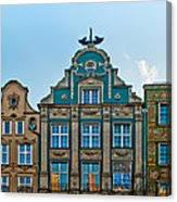 Gdansk Houses Canvas Print