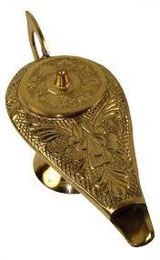 amazon com 6 brass aladdin genie l incense burner home