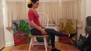 Youtube Chair Yoga Sequence by Chair Yoga Joint Freeing Sequence Pain Relief Lauragyoga Youtube