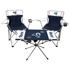 Los Angeles Rams Rawlings Tailgate Table & Chairs Set