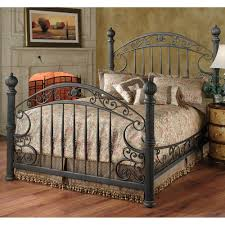 Antique Wrought Iron King Headboard by Manchester Gilded Slate King Bed Metal Bed Frame Beds
