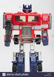 Transformers Optimus Prime Truck Stock Photos & Transformers Optimus ...