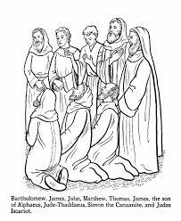 Jesus Teaching Coloring Page AZ Pages