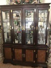 solid wood china cabinets ebay