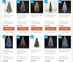 6ft Fiber Optic Christmas Tree Uk by Uk Tesco Christmas Trees Highlight 2014 Seasonal Forum