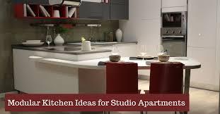 Studio Apartment Kitchen Ideas Modular Kitchen Ideas For Studio Apartments Kutchina Solutions