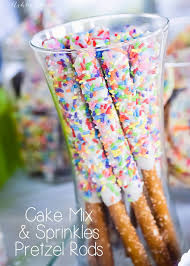 Halloween Pretzel Rods by Cake Mix U0026 Sprinkles Pretzels Ashlee Marie