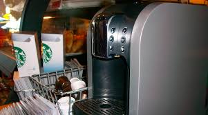 A Starbucks Verismo Machine