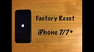 Factory Reset iPhone 7 7 Plus Reset to Factory Settings