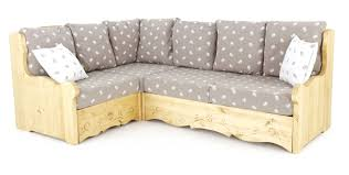 canape d angle modulable canapé d angle coffre rustique taupe edelweiss grenier alpin
