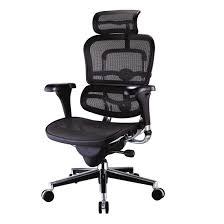 chaise de bureau mal de dos attachant chaise ergonomique bureau fauteuil design tech mobilier