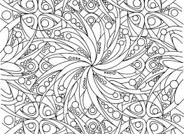 Abstract Coloring Pages For