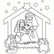 Online Christmas Nativity Printables Coloring PagesFree