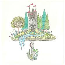 Johanna Basford Enchanted Forest Courtesy The Artist And Laurence King