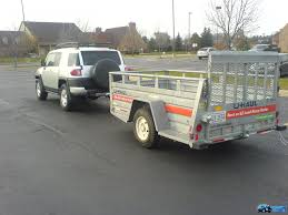Towing A U-Haul Trailer - Toyota FJ Cruiser Forum