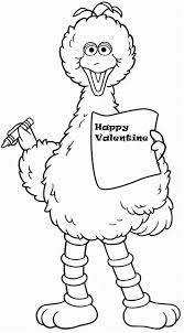Coloring Download Elmo Valentine Pages Printable Page Sesame Street Free