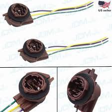 jdm astar 3157 4157na bulb socket turn signal light harness wire