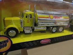 100 Toy Peterbilt Trucks Jada S Hot Rigz 379 Shell Double Oil Tanker 1 32 Scale