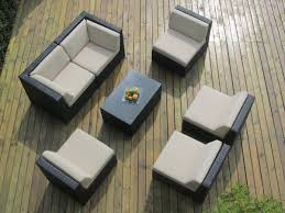 Outdoor Sectional Sofa With Chaise by Ohana Collection Outdoor Sectional Sofa Chaise Lounge Set