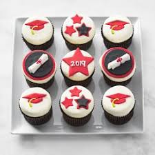 Graduation Cupcakes Set Of 9
