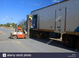 100 Freezer Truck Road Train Freezer Truck Making A Delivery In The Remote Coastal