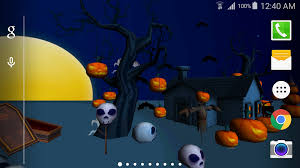 Halloween Live Wallpapers Android 3d halloween live wallpaper android apps on google play