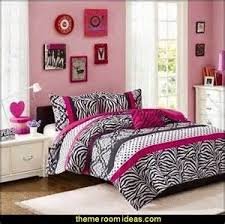 Girls Bedroom Ideas Zebra Print Decorating