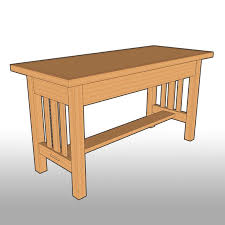 Perfect Mission Style Dining Room Table Plans Free Woodworking Projects Amp