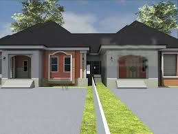 100 Semi Detached House Designs Beautiful In Nigeria Bungalow Duplex With