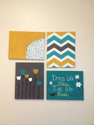 Cute DIY Dorm Art This Matches My Comforter Would Like A Better Quote On