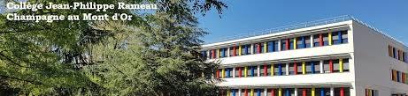 le site du collège jean philippe rameau à chagne aux mont d or